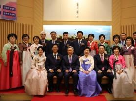 봉화제일교회 100주년 기념 감사예배와 임직식