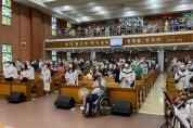 상주교회, 광복 76주년 8.15 기념 예배 드려